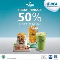 Maxx Coffee Hemat Hingga 50%