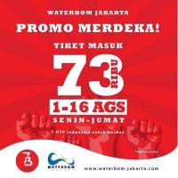 Waterbom Jakarta Promo Kemerdekaan HTM Cuma Rp 73 Ribu
