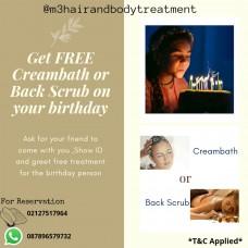 M3 Hair & Body Treatment Promo Ulang Tahun Setiap Bulan